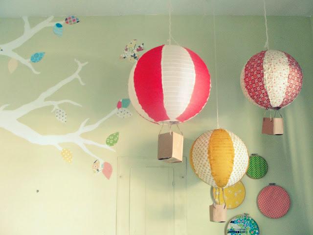 Decora con globos aerostáticos