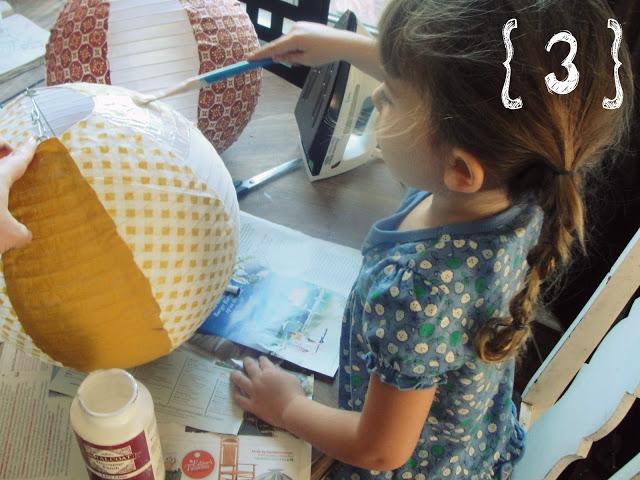 Decora con globos aerostáticos - Paso 3