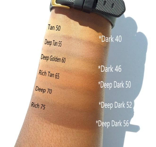 Colourpop Cosmetics, Colourpop No Filter Concealer, Colourpop Concealer, Colourpop Concealer Swatches, Colourpop Swatches on Dark Skin, Colourpop Review, Colourpop Concealer Review, Colourpop Concealer Swatches Deep Dark Shades