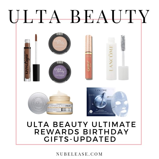 Ulta Beauty Birthday Gift 2018 2019