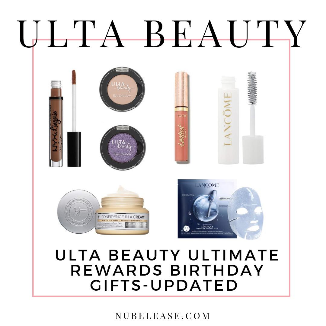Ulta Beauty Birthday Gift Ulta Beauty Birthday Gift 2018 Ulta Beauty Birthday Gift 2019  sc 1 st  Nubelease & Ulta Beauty Ultimate Rewards Birthday Gifts 2019 UPDATED - Nubelease