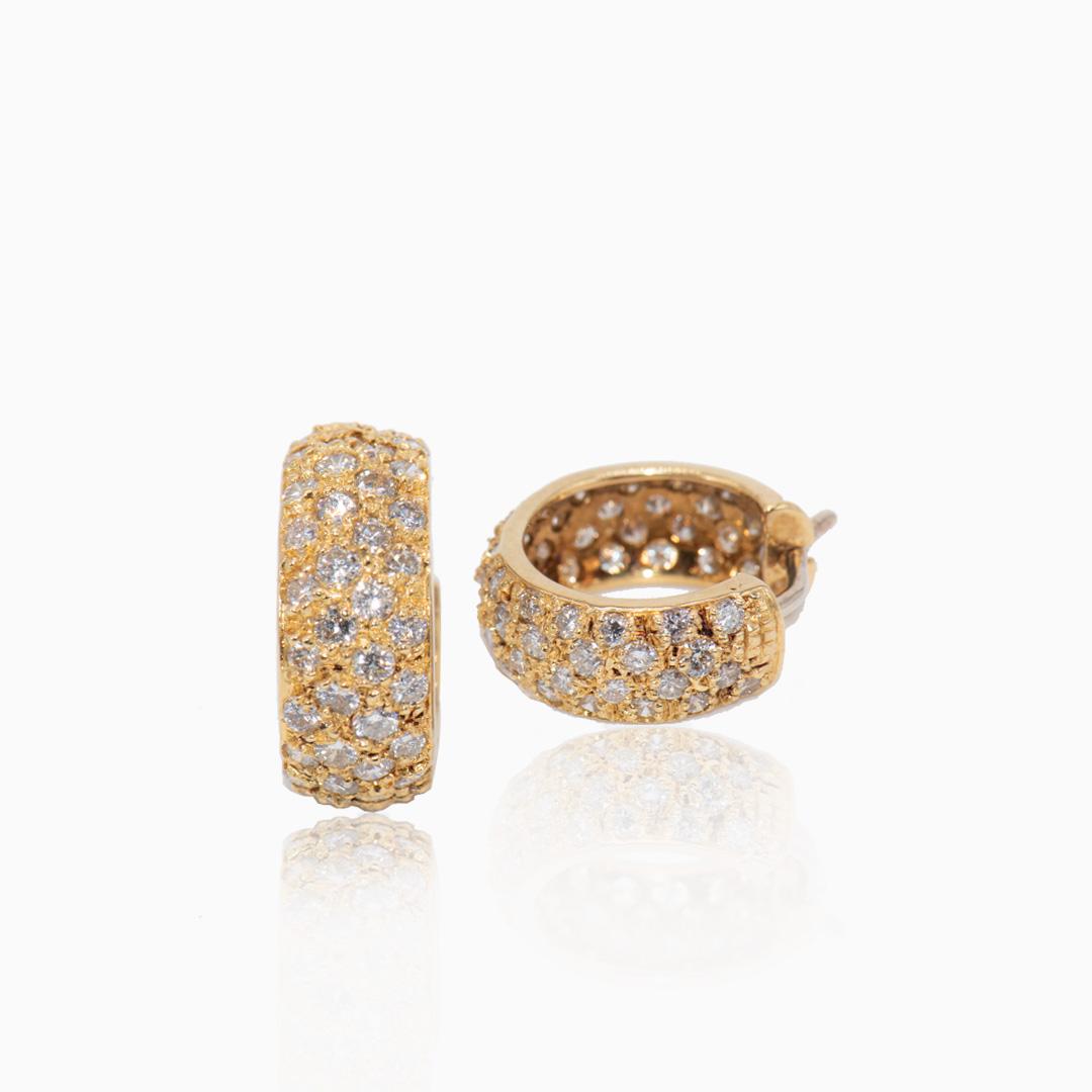 Pendientes Oro y Diamantes