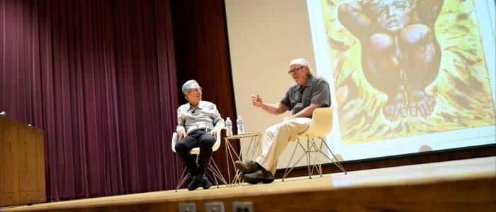 """""""Blake, Now and Then"""" – Opening Day Conversation with Stephen Eisenman and W.J.T. Mitchell [Video]"""