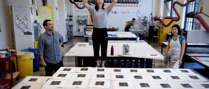 """Dario is our Socrates"": Northwestern's McCormick School of Engineering and The Block team-up on a innovative Artist-At-Large Program [Video]"