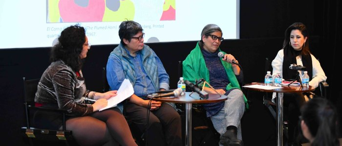 """Constantly in Translation"": Artists Vicko Alvarez Vega, Nicole Marroquin, and  Diana Solís on identity, activism, and Pop [Video]"