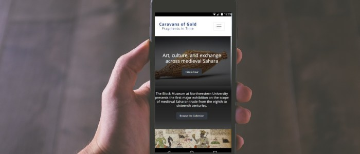 'Caravans of Gold' app reaches global audience by going small