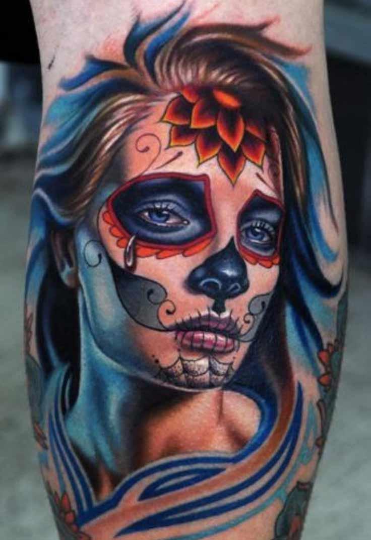 new-school-tattoo-girl-crying-portrait