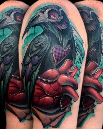 tatuajes-new-school-cuervo