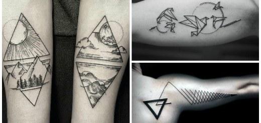tatuajes geometricos