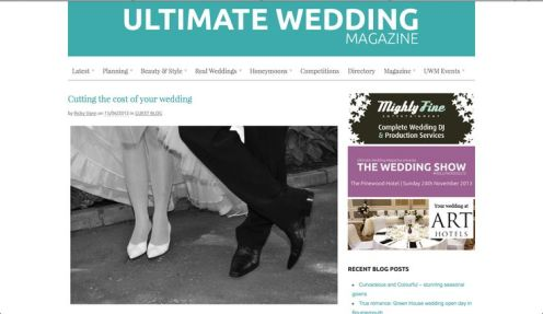 Ultimate Wedding Magazine Blog | June 2012