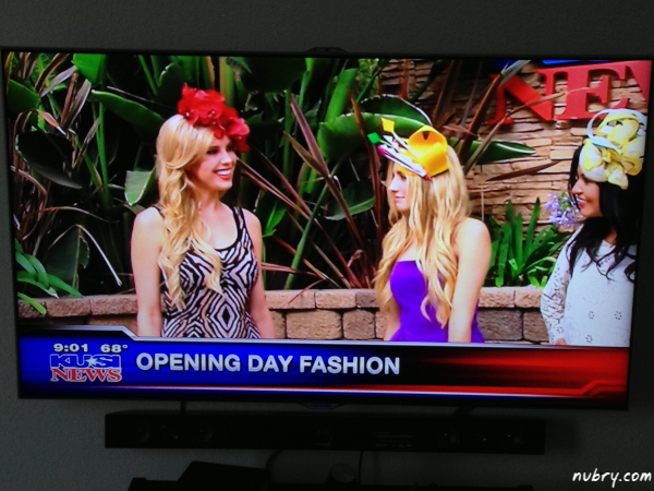 Opening Day at the Races Fashion KUSI 10