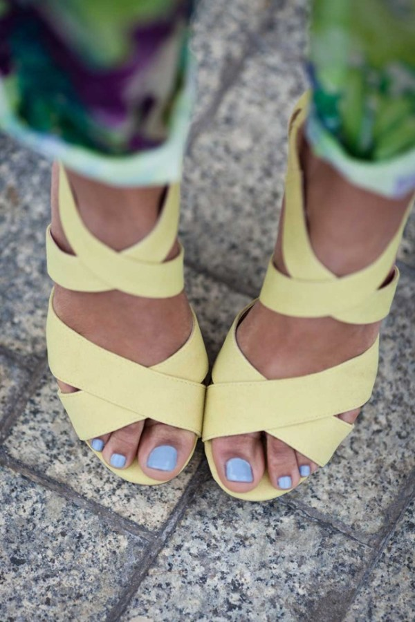 Easter outfit_wedges