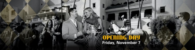 Bing Crosby Opening Day Del Mar Novemeber