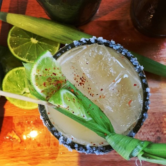 healthy eating out tips - skip the alcohol - margarita