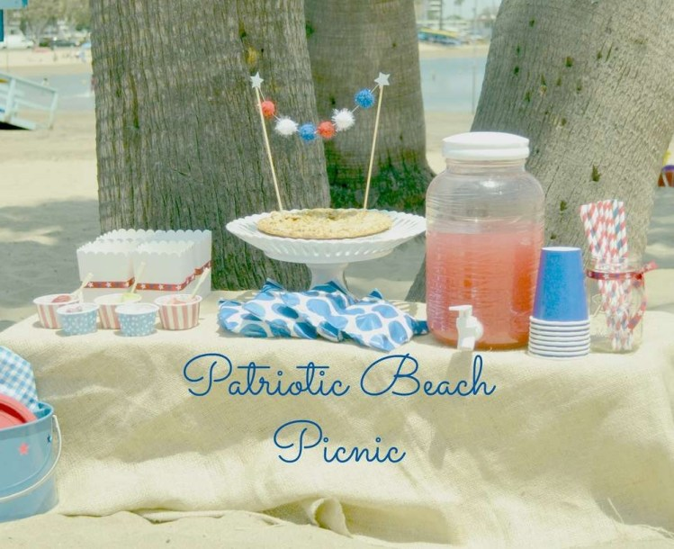 Throw a July 4th party outside by the pool or on the beach | Photo Credit: Catch My Party