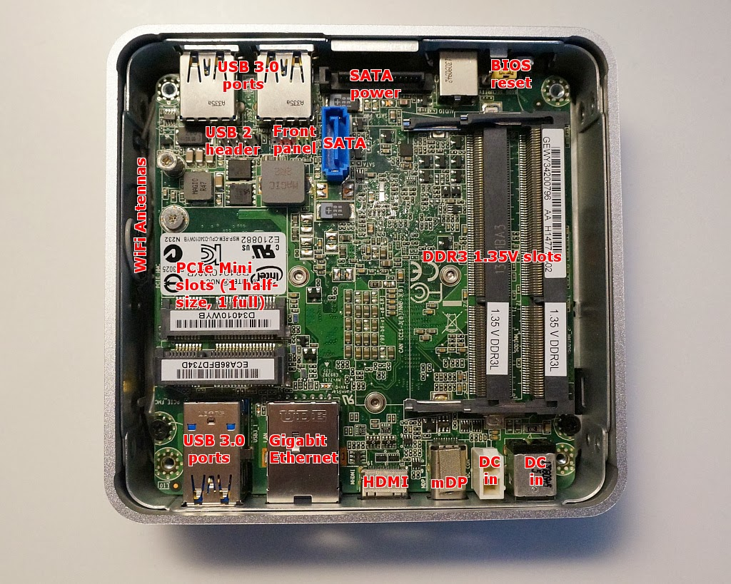A Look Around And Inside The I3 NUC D34010WYK – The NUC Blog