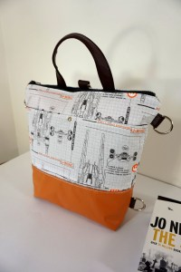 Star Wars Rogue One U-Wing Blueprint Zipper Three Way Bag