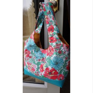 Floral Spring Shoulder Bag