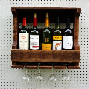 4 Glass Wine Racks