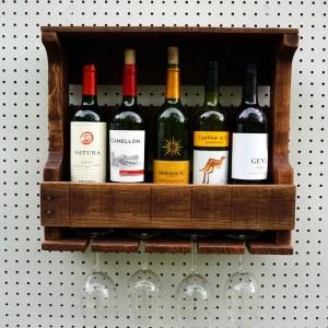 4 Glass Wine Racks