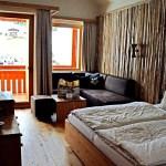 Die Zimmer sind sehr geräumig und bieten eine wunderbare Aussicht. © Nina-Carissima Schönrock