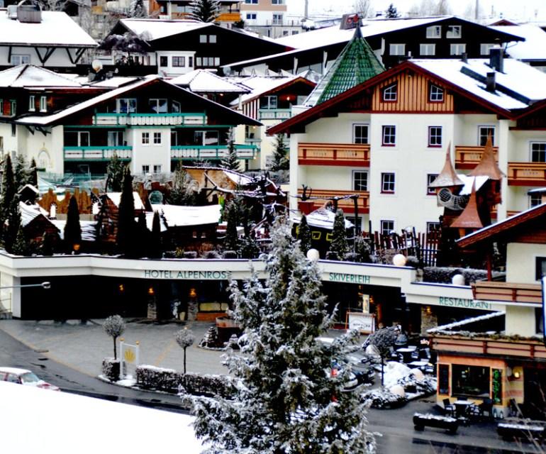 Das Hotel Alpenrose. © Nina-Carissima Schönrock