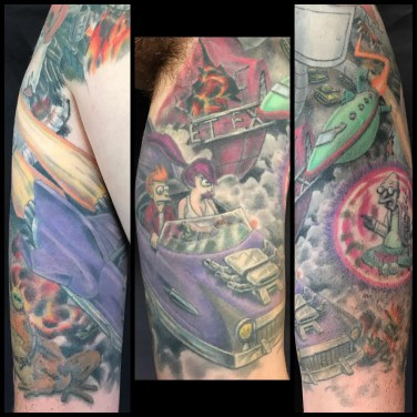 Futurama Sleeve 3