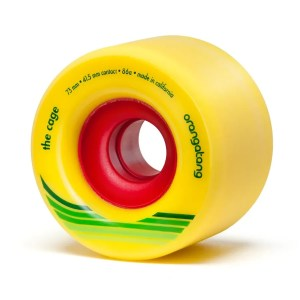 73mm Orangatang Wheels The Cage Yellow
