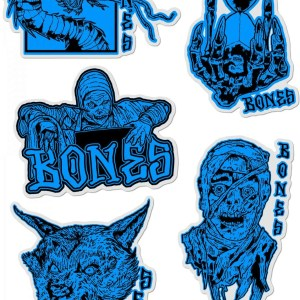 Bones Timebeasts Stickers