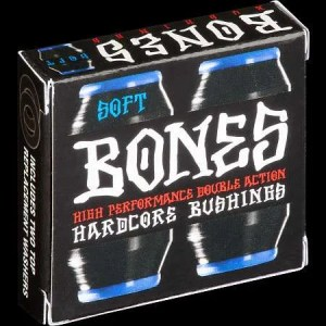 Bones Hardcore Soft Black/Blue Bushings