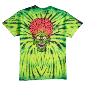Santa Cruz x Mars Attacks Martian Face Shirt XL