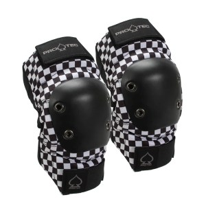 Protec Street Elbow Pads- Checker Medium