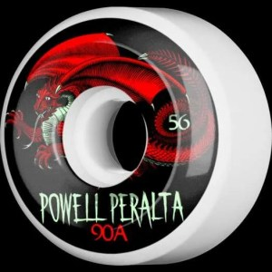 56mm Powell Peralta Oval Dragon Wheels