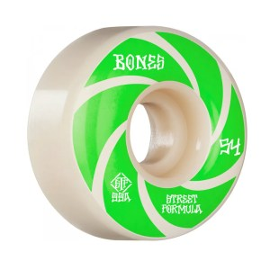 54mm Bones Patterns Wheels V1 Standard Street Tech Formula 99a
