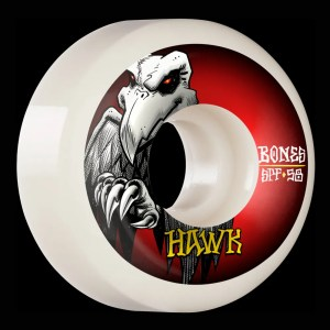 58mm Hawk Falcon II Wheels Bones Skatepark Formula