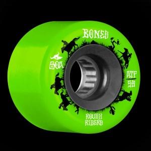 59mm Bones Rough Rider Wranglers Green