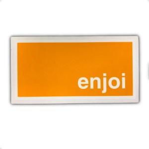 Enjoi Logo Rectangle Sticker