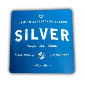 Silver Trucks Sticker
