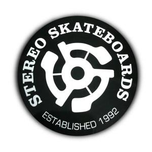 Stereo Skateboards Sticker