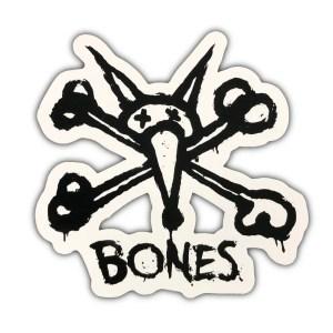 Bones Vato Rat Sticker White
