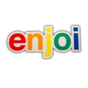 Enjoi Rainbow Logo Sticker
