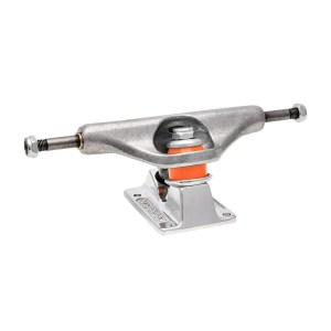 159 Independent Stage 11 Forged Hollow Silver Trucks