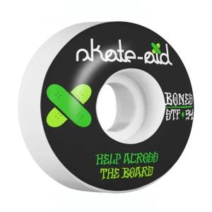 54mm Bones STF Skate Aid Wheels