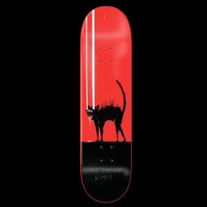 8.0″ Zero Wimer The Damned Red Dip Deck