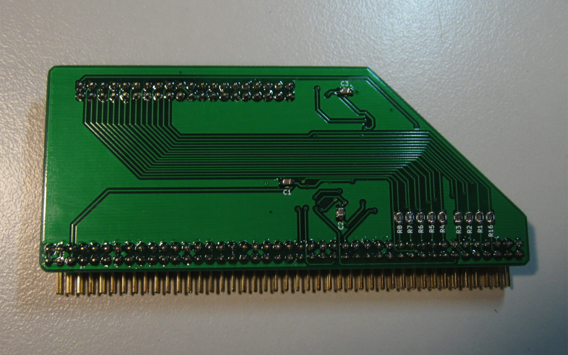 hight resolution of pcb front pcb back