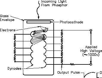 Figure 26 Photomultiplier Tube Schematic Diagram