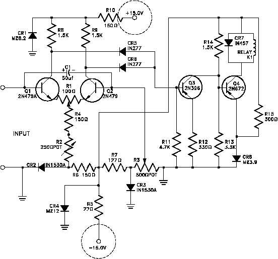 Figure 6 Schematic Showing Power Supply Connections