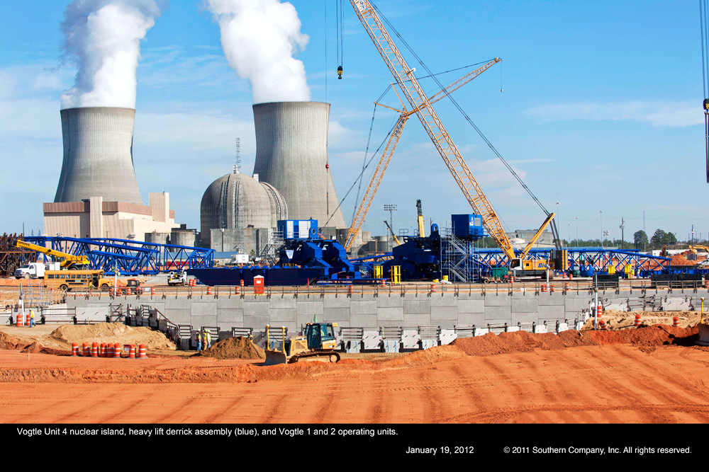 NRC Approves Vogtle Reactor Construction  First New