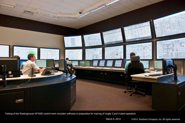 Plant Vogtle Training 100Plus AP1000 Reactor Operators
