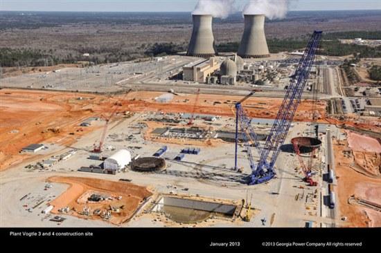 New Photos Show Progress on Plant Vogtle Reactor